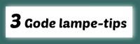 IDE:SIGN - 3 gode lampetips