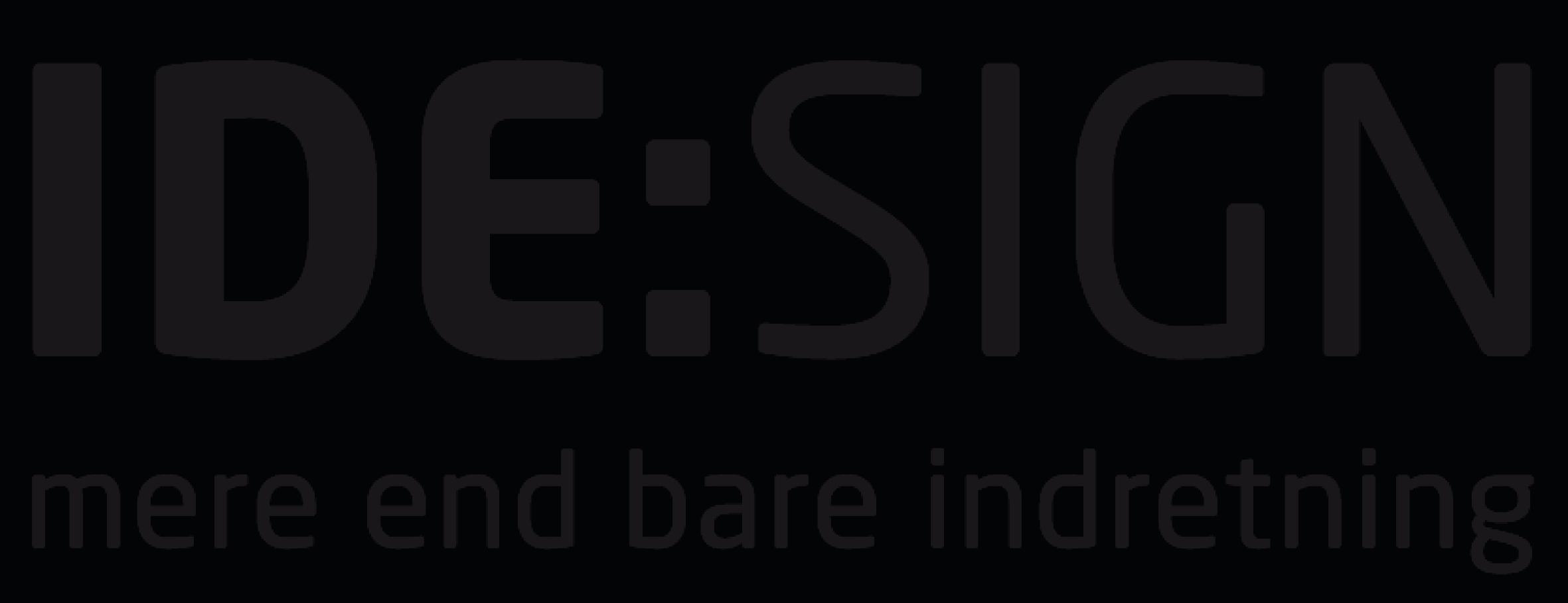 IDESIGN logo - mere end bare indretning